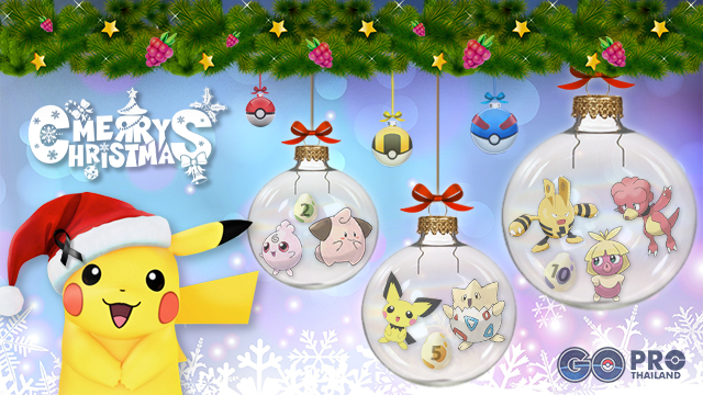 Pokemon Go Christmas Event.Spacial Events Pokemon Go Pro Thailand